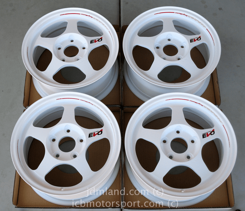 "Final Version Desmond Regamaster EVO White 15"" 5X114.3 NEW"