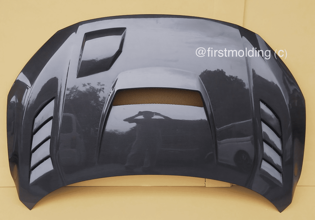 First Molding Super Aero Vented Hood FK8 Civic Type R 2017+ All FRP/Carbon/FRP/Full Carbon