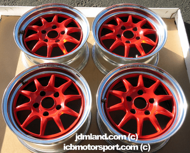 """Gab Sports 15"""" 5X114.3 Staggered Offset"""