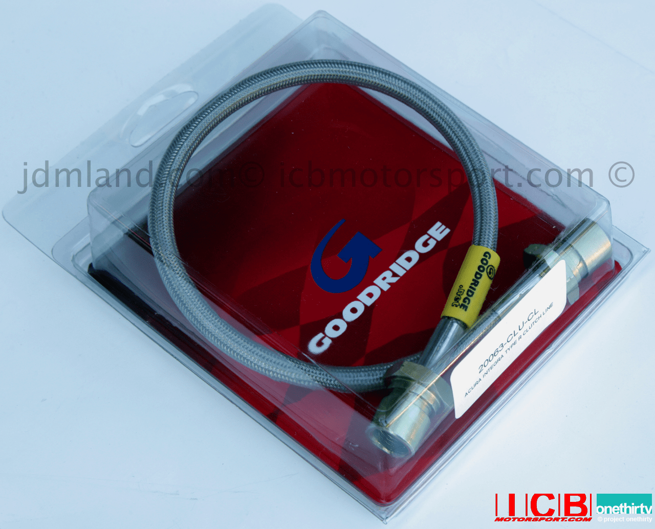 Goodridge Stainless Steel High Performance Clutch Line USDM Acura Integra 90-97 All RS LS GS GS-R 20062-CLU