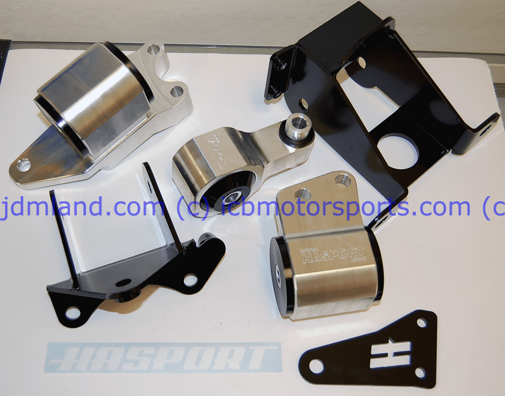 Hasport Mount Kit FDSTK Honda Civic 06-11 Si Gunmetal