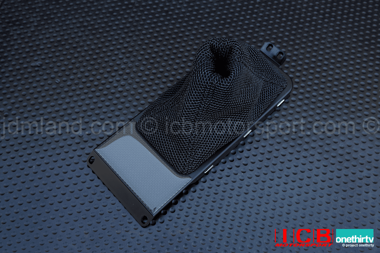 Honda NSX Type R 2002 NA2 Mesh Shift Boot with Carbon Trim Panel