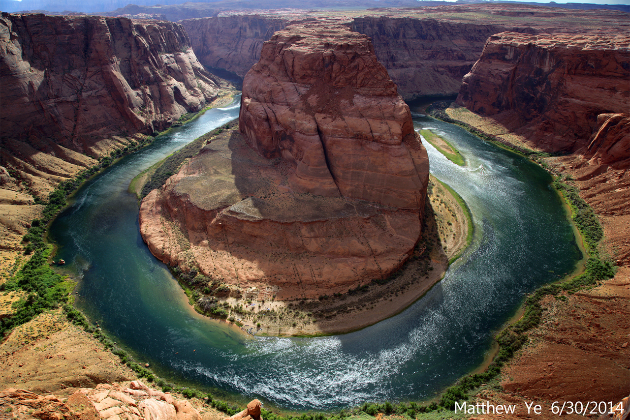 """Horseshoe Bend - AZ Natural Series"" by ICBMatt Picture taken on 6/30/2014"