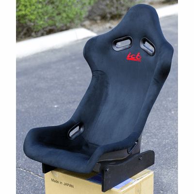 ICB Japan Pursuit MK I Full Bucket Seat Black Alcantara FRP Back