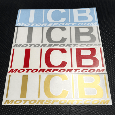 """ICB MOTORSPORT 15"""" Decals Various Colors FREE SHIPPING"""