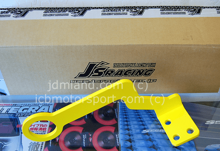 J's Racing Front Tow Hook Honda Civic EK4 EK9 96-00 Yellow