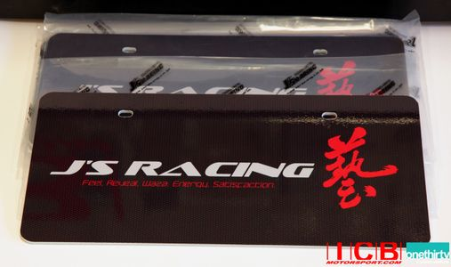 J's Racing License Plate Feel Reveal Waza Engery for USDM LHD Cars