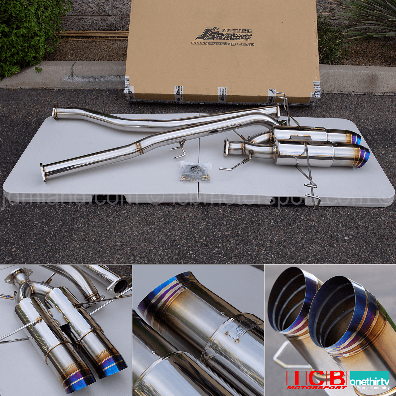 J's Racing SUS T304 T304W-K8-70RS 70RS Plus Dual Exhaust System Civic Type-R FK8 Pre-Order