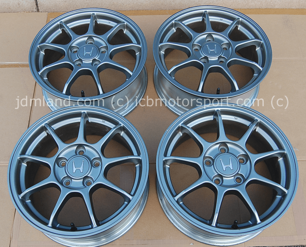 "JDM Accord Euro-R CL1 Gunmetal Rims 16"" 5X114.3 Sold"