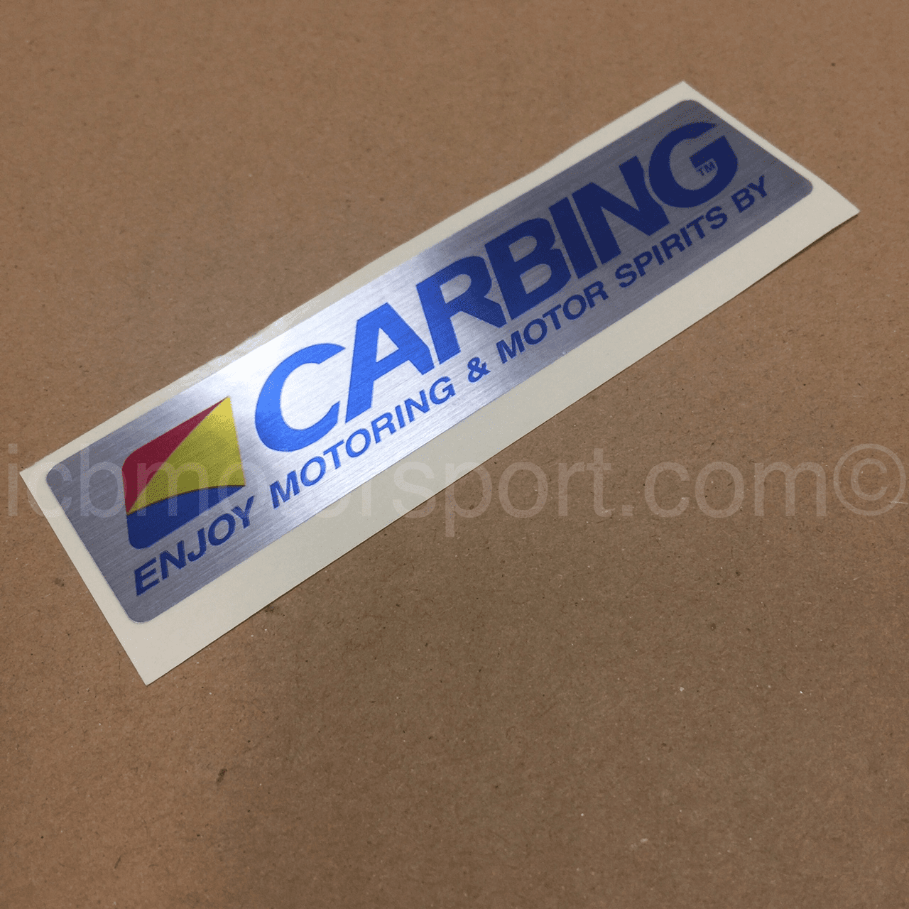 "JDM Carbing 4"" Sticker FREE SHIPPING"