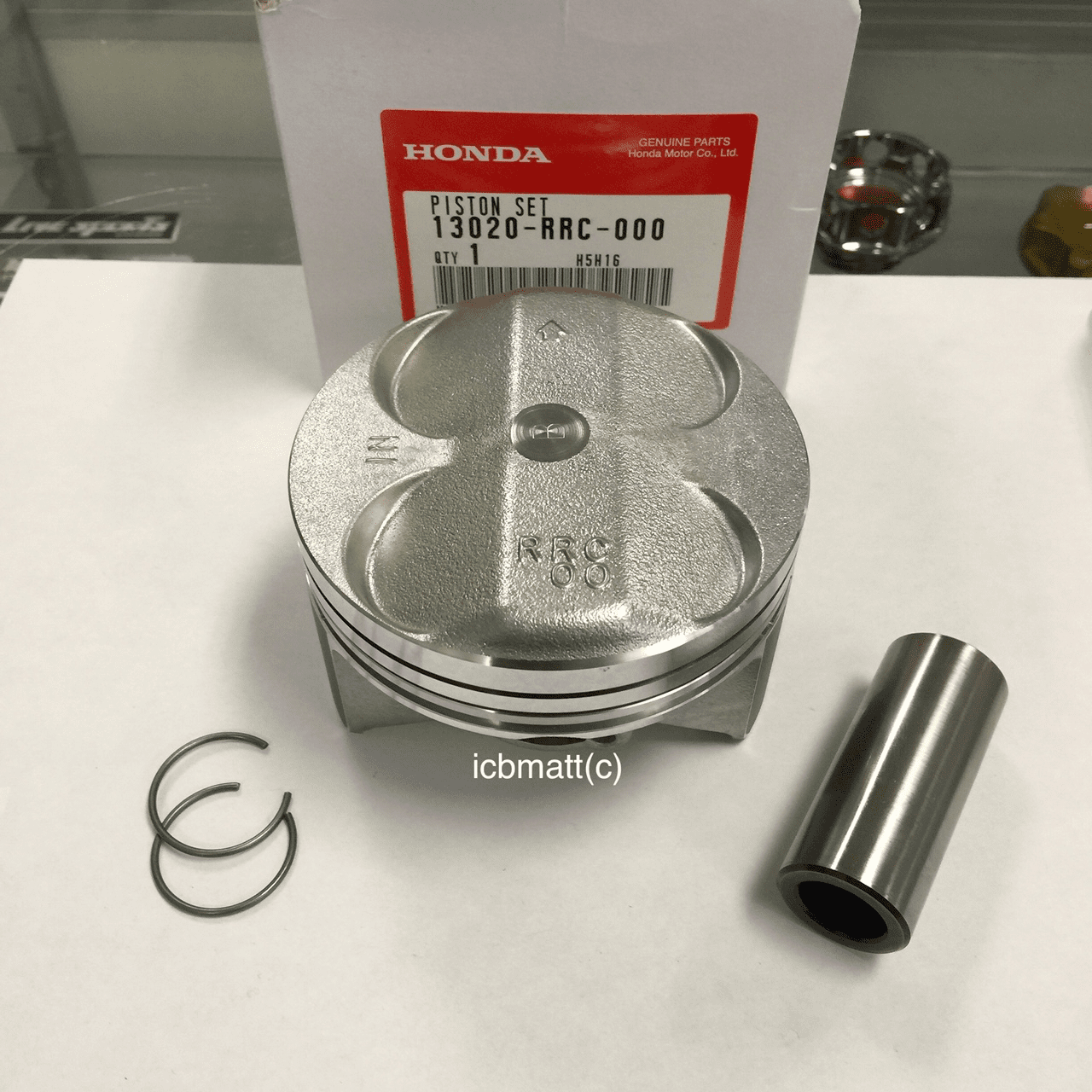 JDM Civic FD2 Type R K20A Piston Kit (Standard Size)
