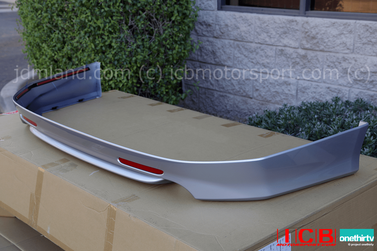 JDM CL7 Accord Euro R Rear Lip Spoiler 2004-2005 - NH623M B507P