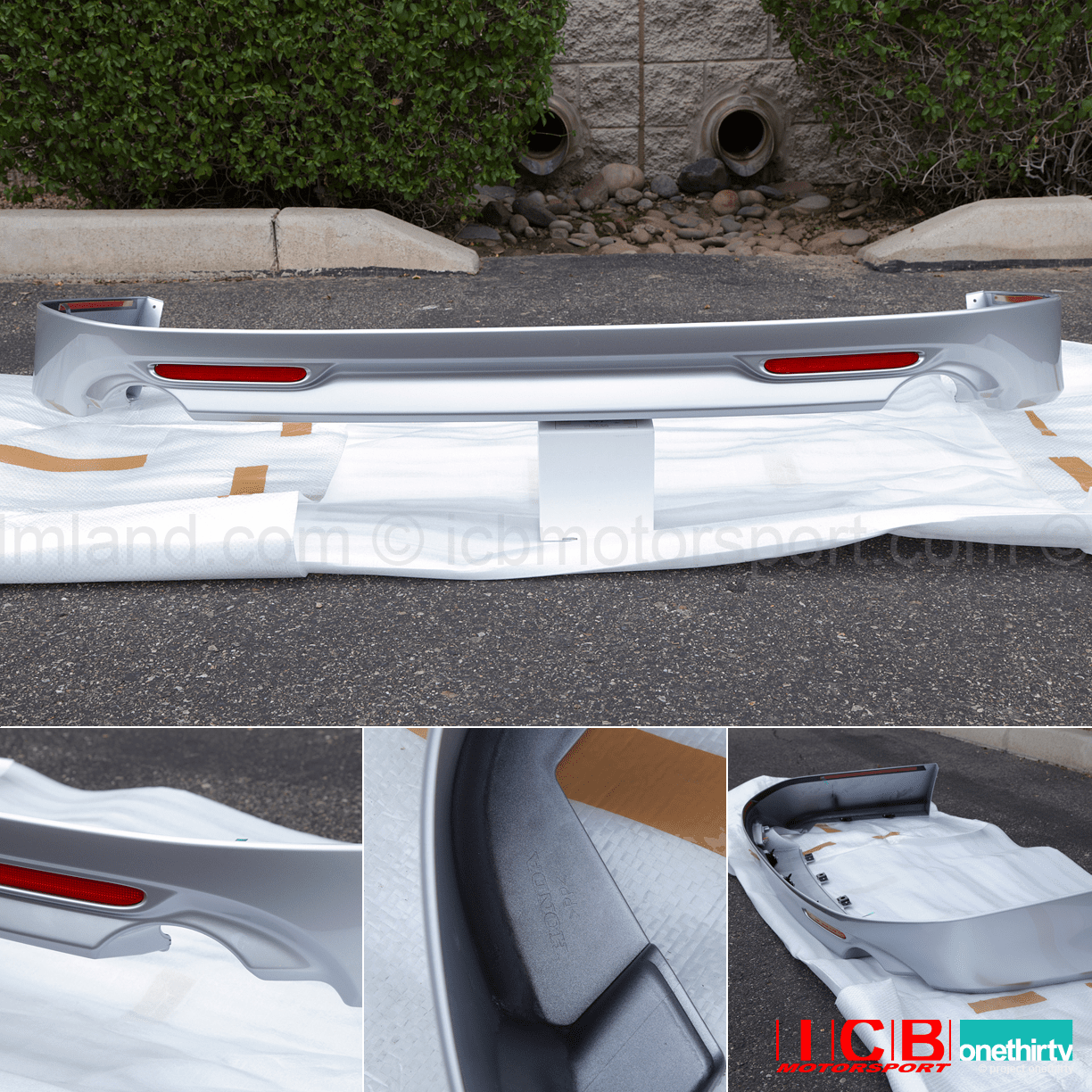 JDM CL7 Accord Euro R Rear Lip Spoiler 2006-2008 NH624P NH658P NH700M