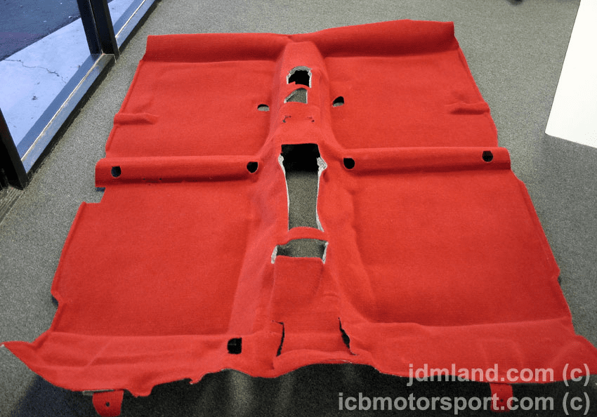 JDM EK9 Type R 96-00 Red Carpet - BRAND NEW