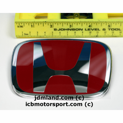JDM FA5 FG2 Civic 06-08 Si Coupe/Sedan Front and Rear H Red H Combo