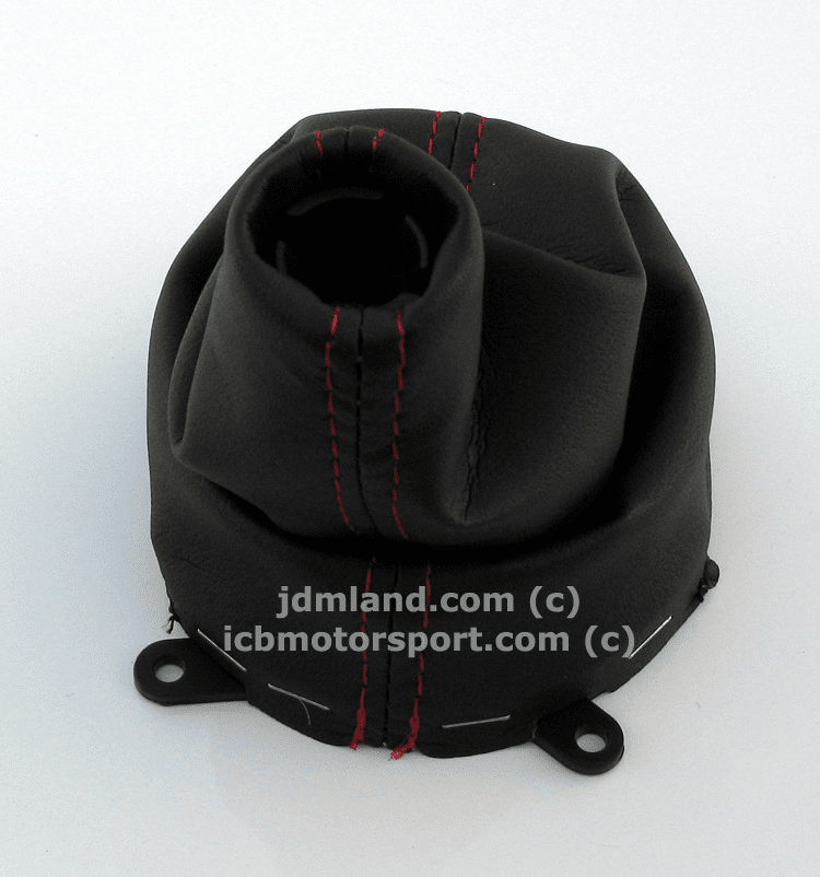 JDM FD2 Civic Type R Red Stitch Shift Boot