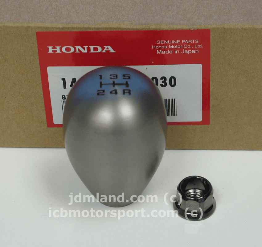 JDM Honda 5 Speed Aluminum Shift Knob Bronze with locking nut