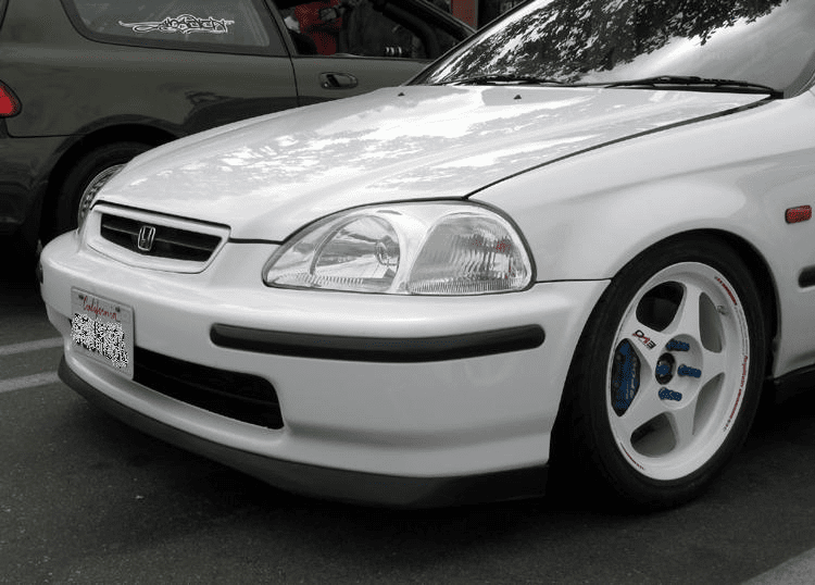 JDM Honda Civic EK4 SiR 1996-98 Front Chin Lip Spoiler