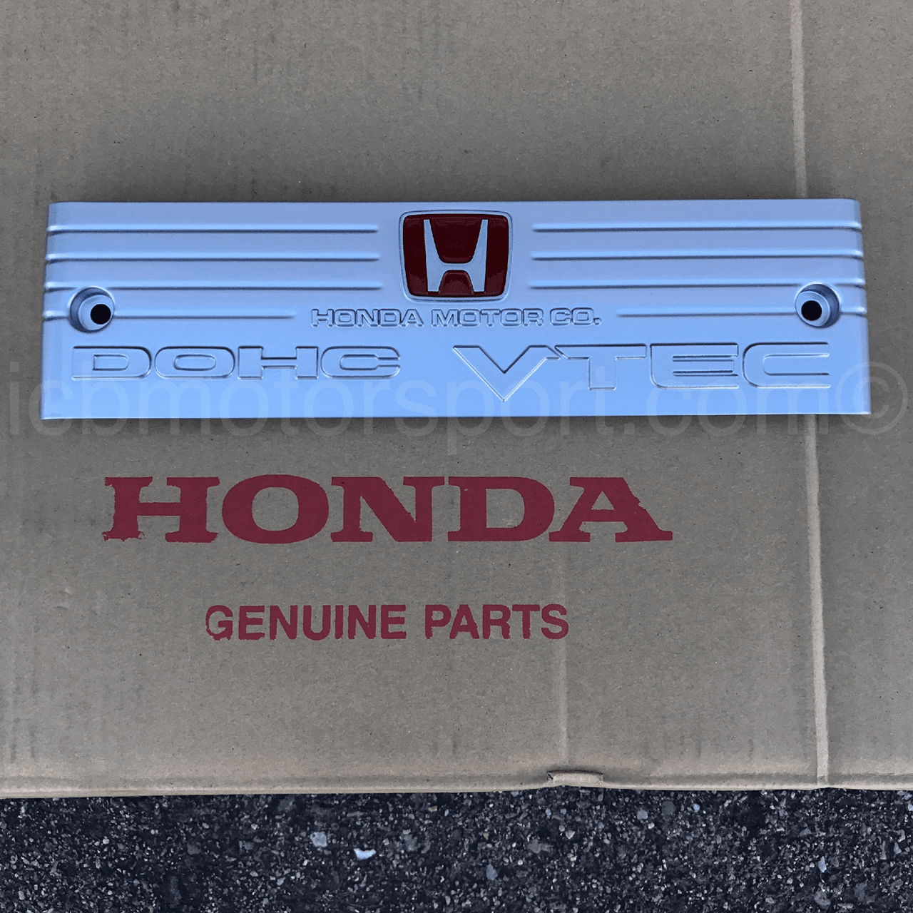 JDM Honda NSX-R NA1 Intake Manifold Plate With Red H