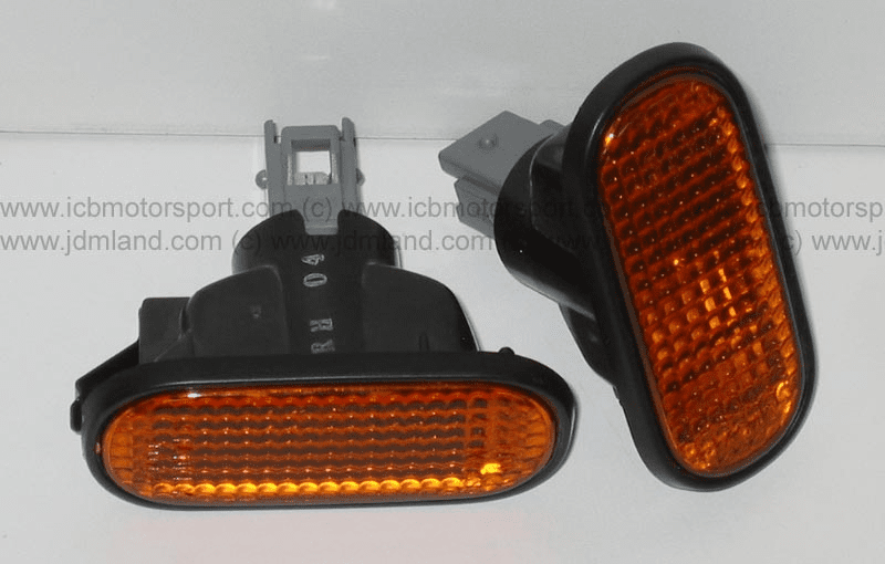 JDM Integra DC2 Type R ITR Amber Side Markers Set