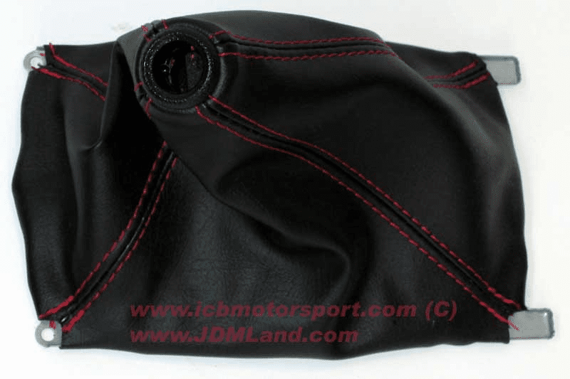 JDM Integra DC2 Type R ITR Red Stitch Shift Boot