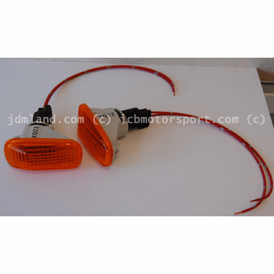 JDM Integra DC5/EP3 Type R AMBER Side Markers ( w/ Wiring)