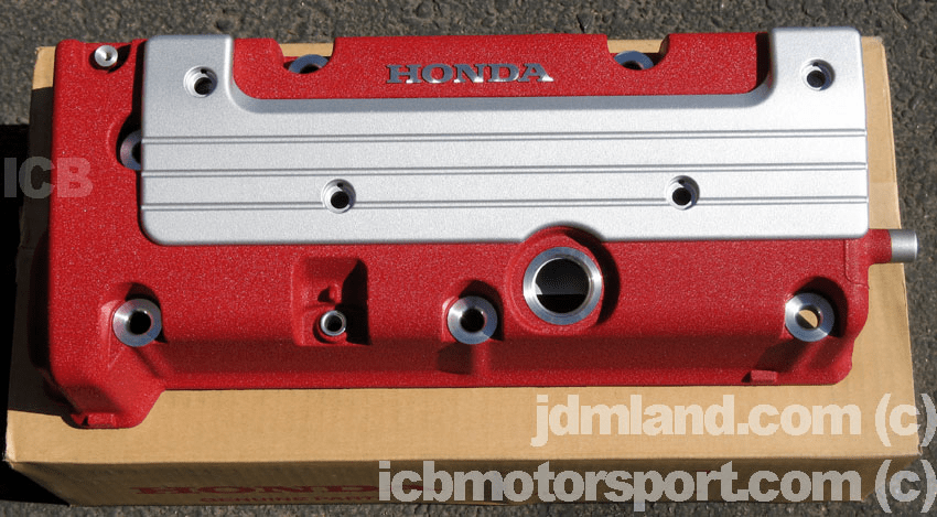 JDM Integra DC5 Type R Red Valve Cover & Coil Pack Cover