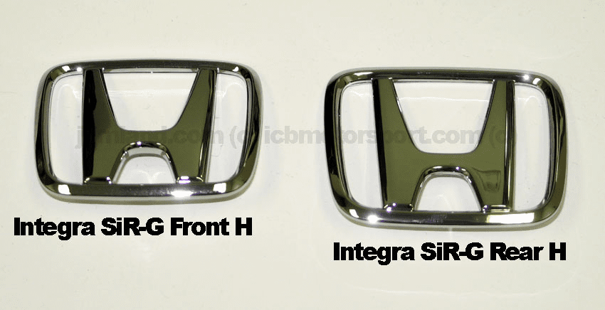 JDM Integra SiR-G 94-95 Front and Rear H Combo