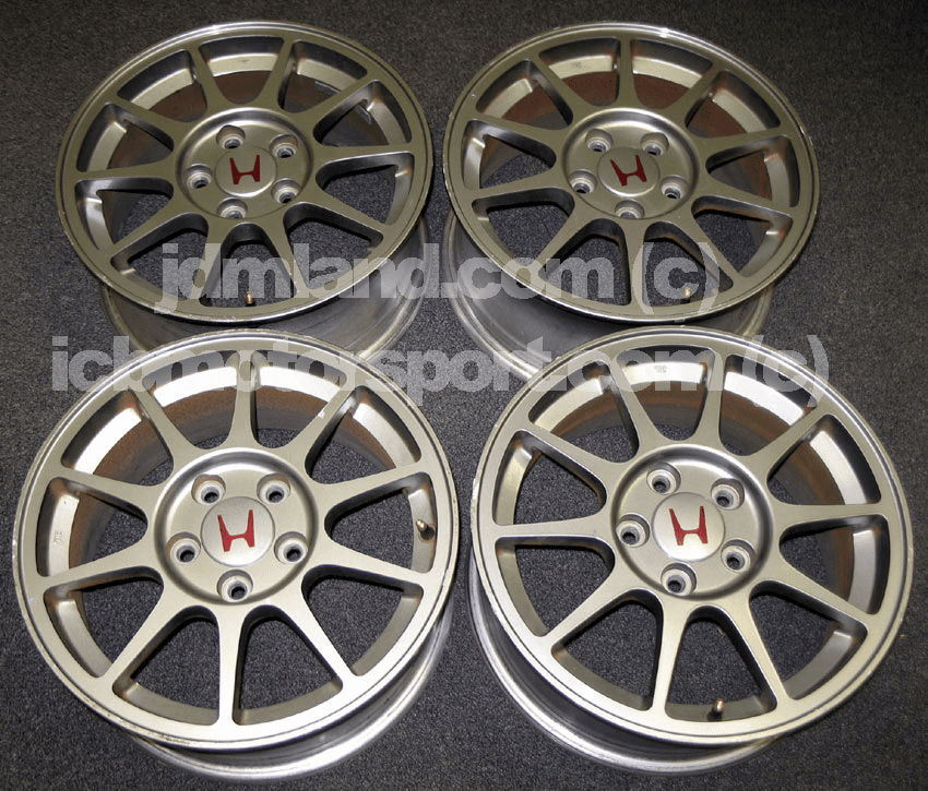 "JDM ITR 98 Spec. Gunmetal Rims 16"" - SOLD!"