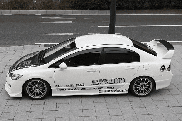 JDM Max Racing FD2 Civic TypeR FRP Side Skirts