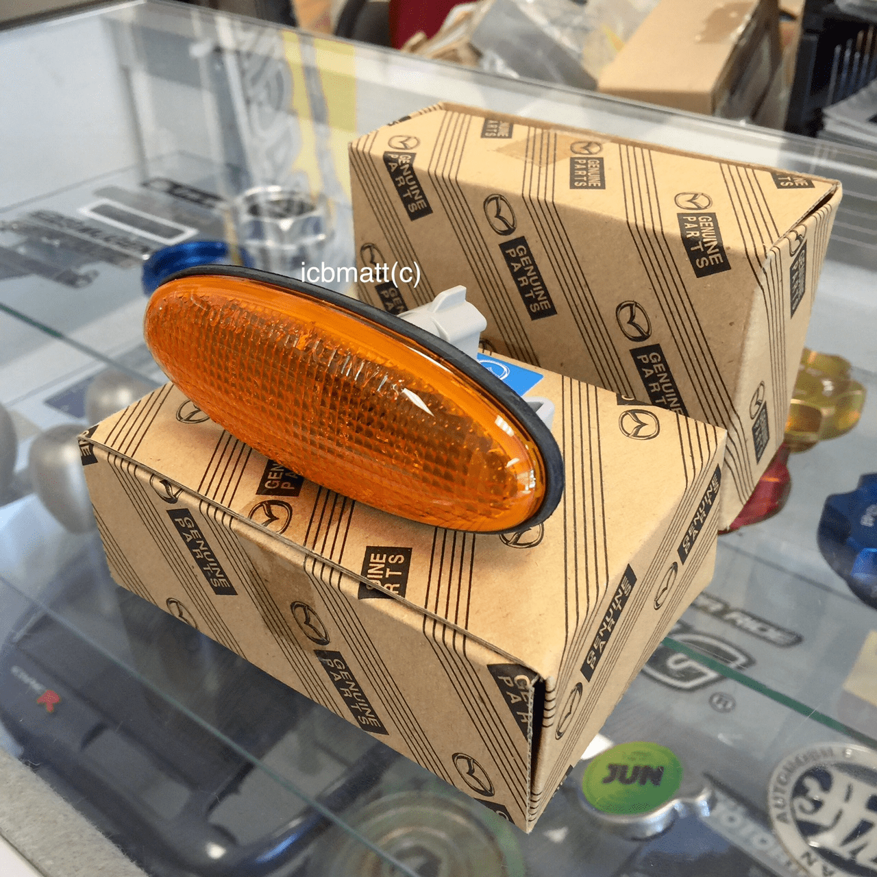 JDM Mazda RX7 93-96 Side Markers Amber (Pair)