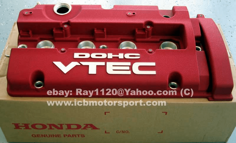 JDM Prelude 97-01 BB6 Type S Red Valve Cover