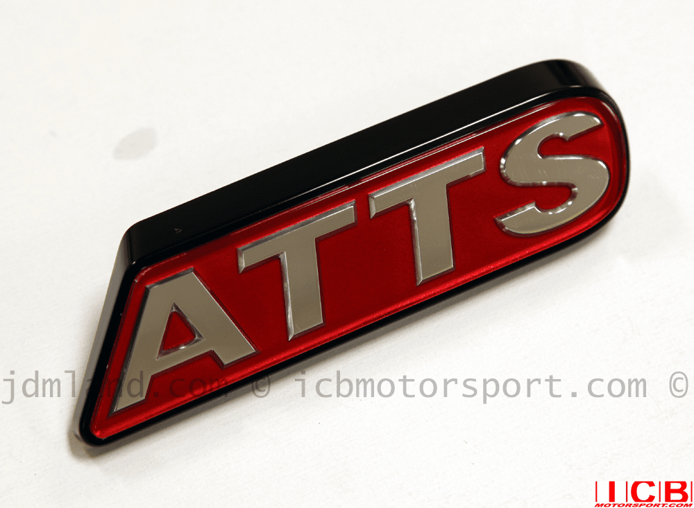 """JDM Prelude BB6 Type S """"ATTS"""" Emblem (Front)"""