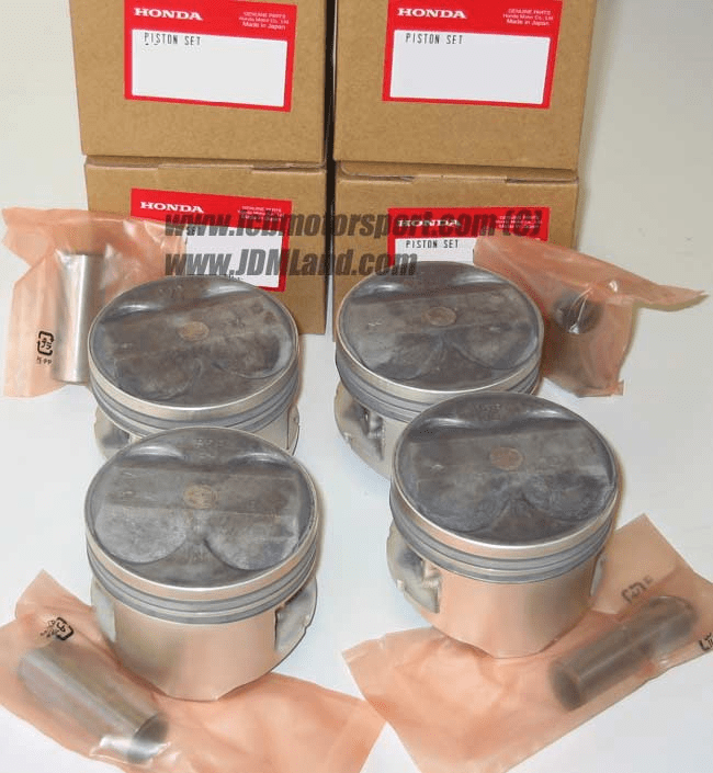 JDM Prelude BB6 Type S Piston Set 220HP BB6 H22 S Spec .25mm Over Size
