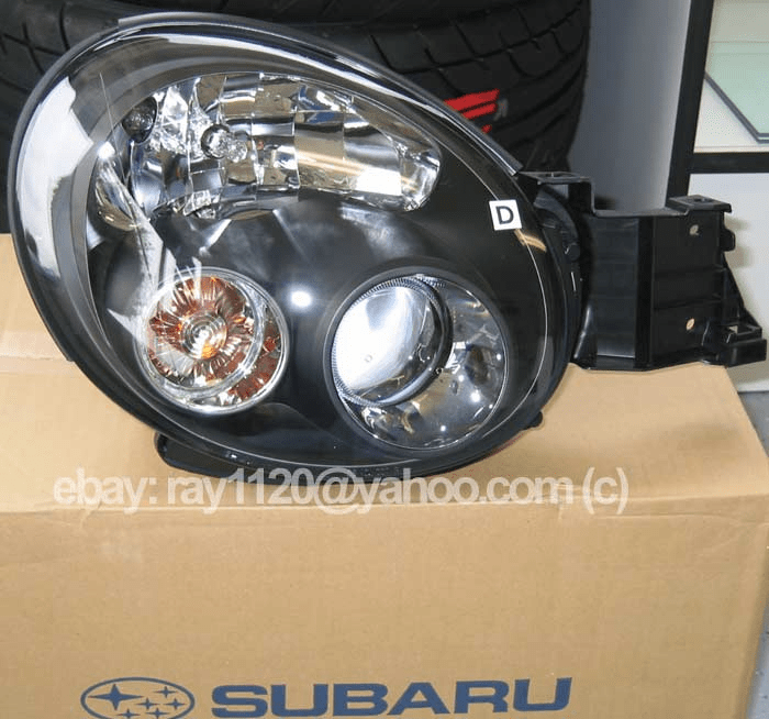 JDM Subaru WRX 02-03 Headlight Assy Set RHD (L&R)