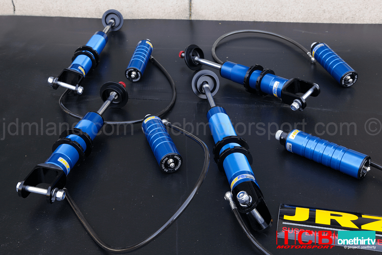 JRZ RS Pro Double Adjustable Twin Tube Damper w/ Remote Canister Acura NSA NA1 NA2 ALL FREE SHIPPING