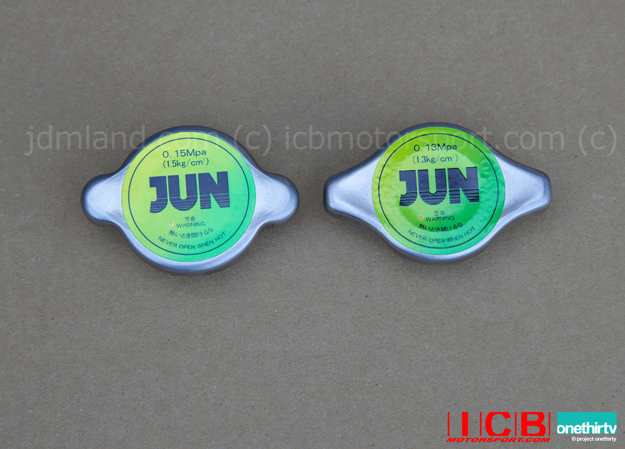 JUN Auto High Performance Radiator Caps Type S 1.5kg Type N 1.3kg