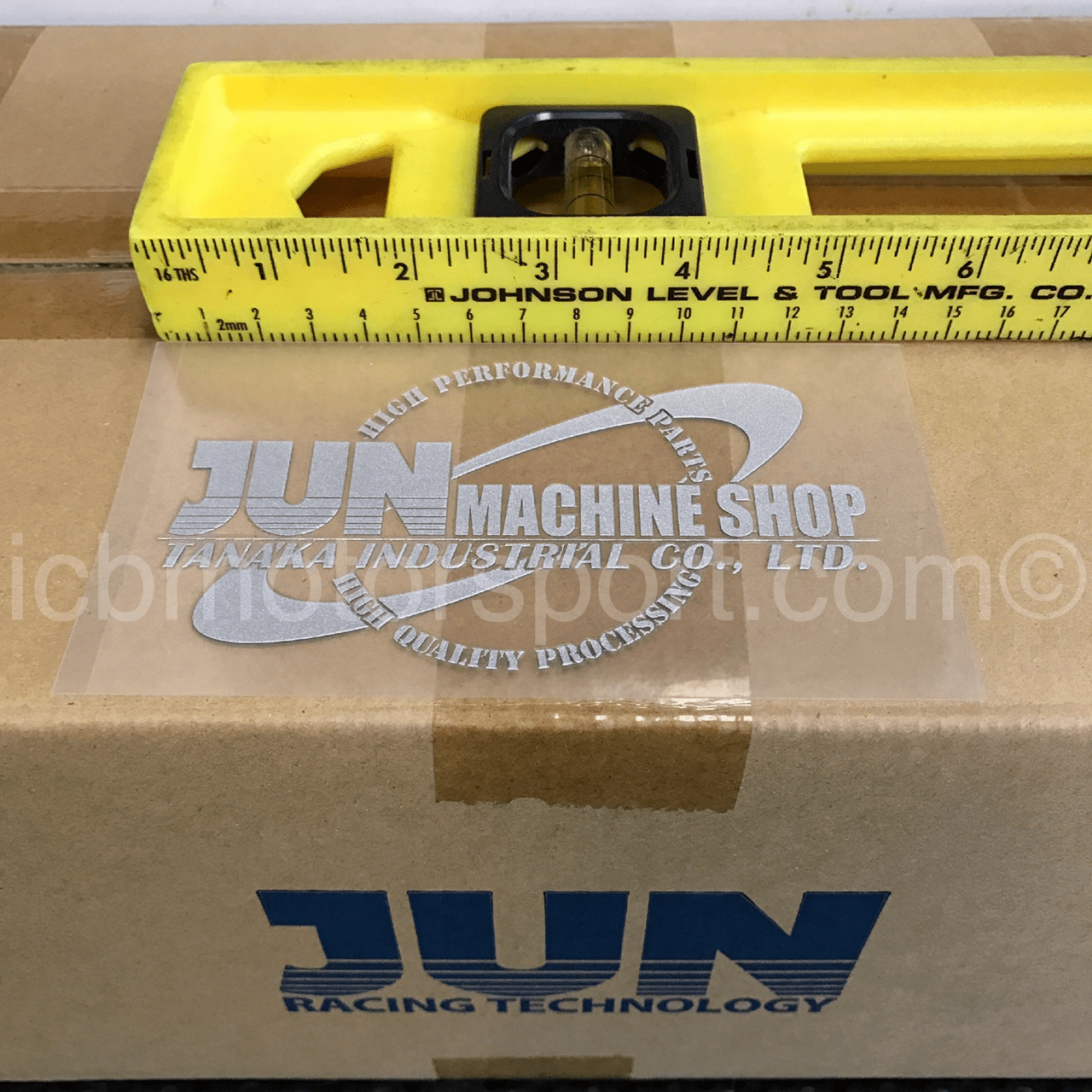JUN Auto Mechanic Machine Shop Silver Decal 140mmx80mm Free Shipping