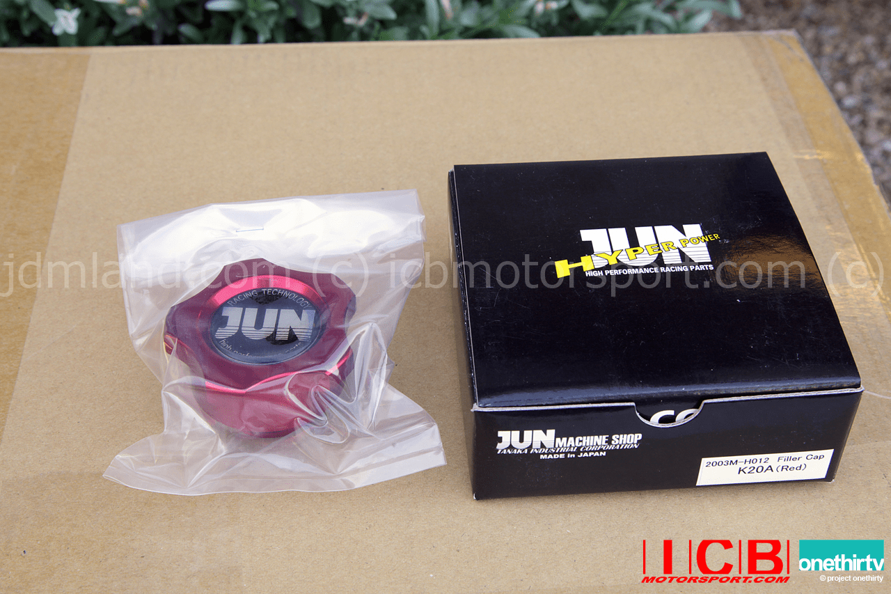 JUN Auto Mechanic Oil Filler Cap Red K Series Engines