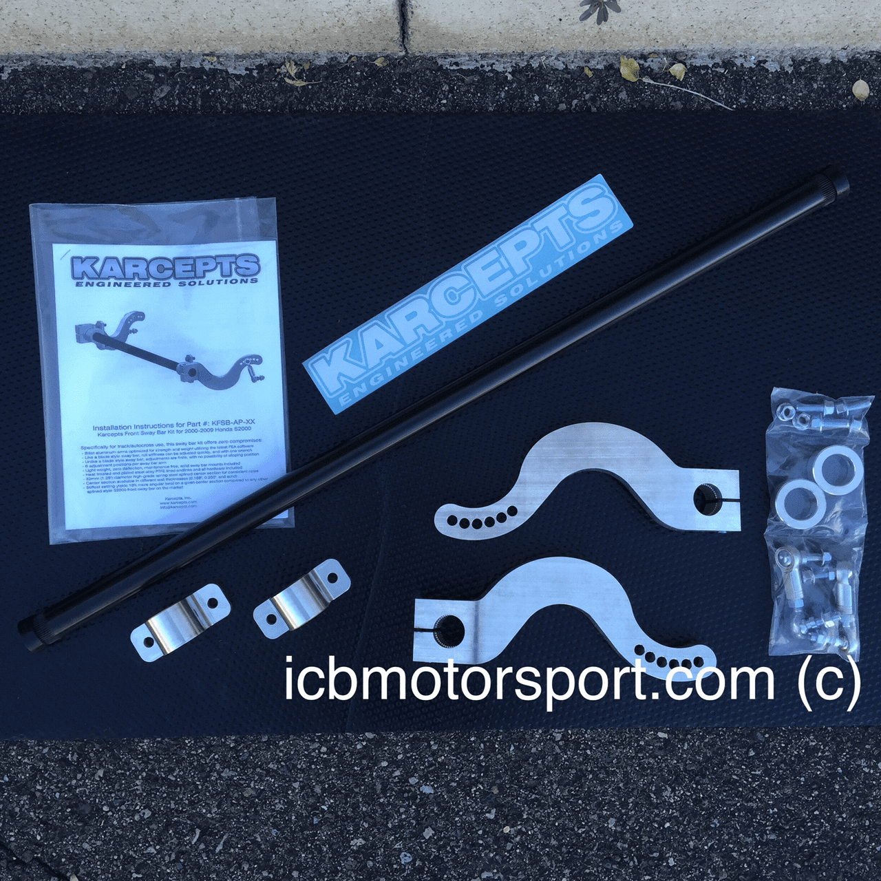 Karcepts S2000 Front Sway Bar Kit KFSB-AP-25