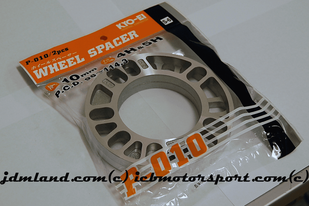 KYO-EI Project Kics Universal Plate Spacers - 10mm Pair