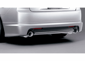 Mugen Accord Euro-R TSX CL7 06-08 Rear Lip Spoiler Kit 84111-XKBD-K0S0-ZZ
