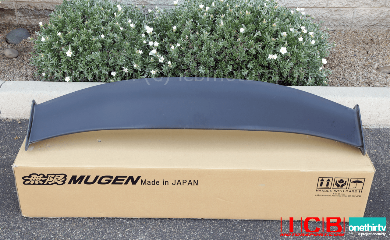 Mugen Aero DC5 Integra RSX 2002-2006 Rear Adjustable Wing/Spoiler Kit  84112-XK5-K0S0