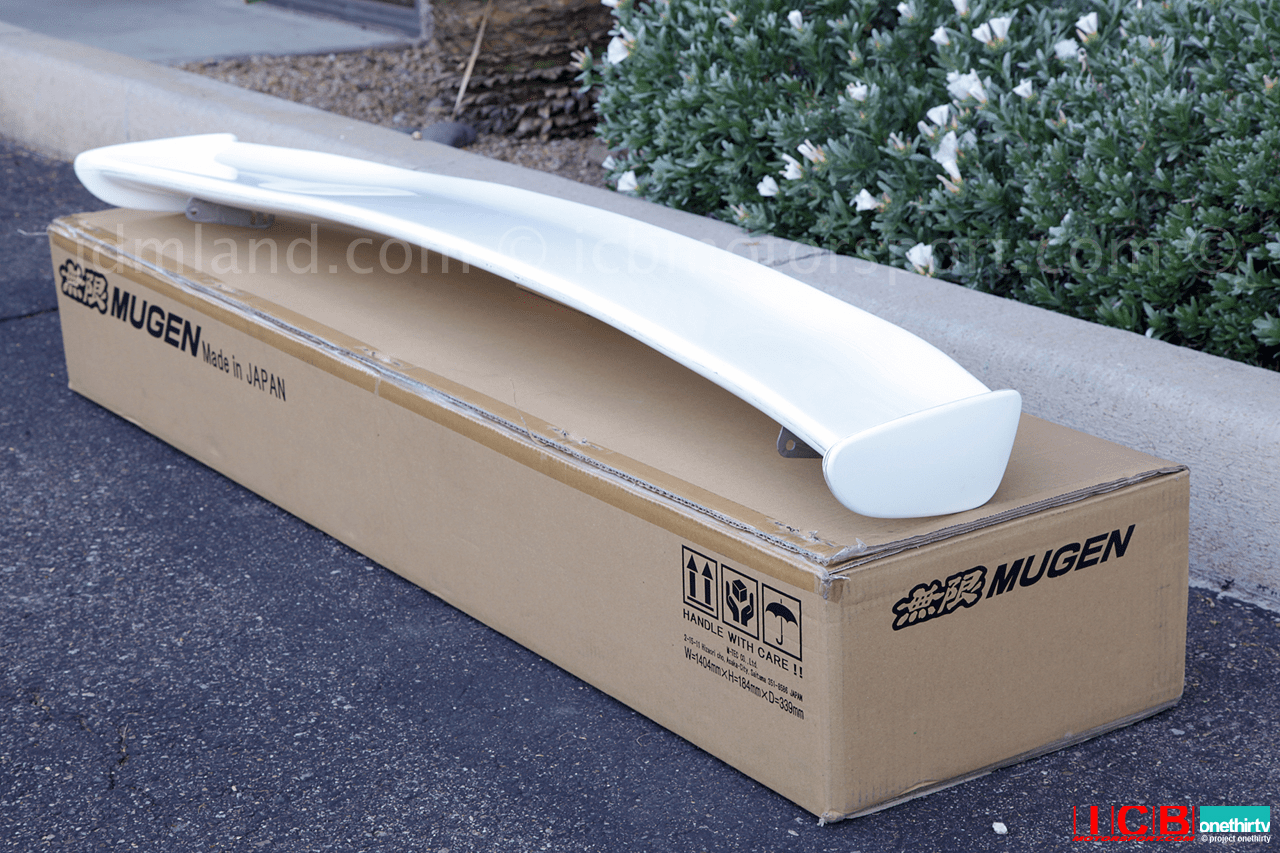Mugen Aero FD2 Type R 2006-2011 Civic 4-Door - Adjustable Rear Wing 84112-XKPC-K0S0