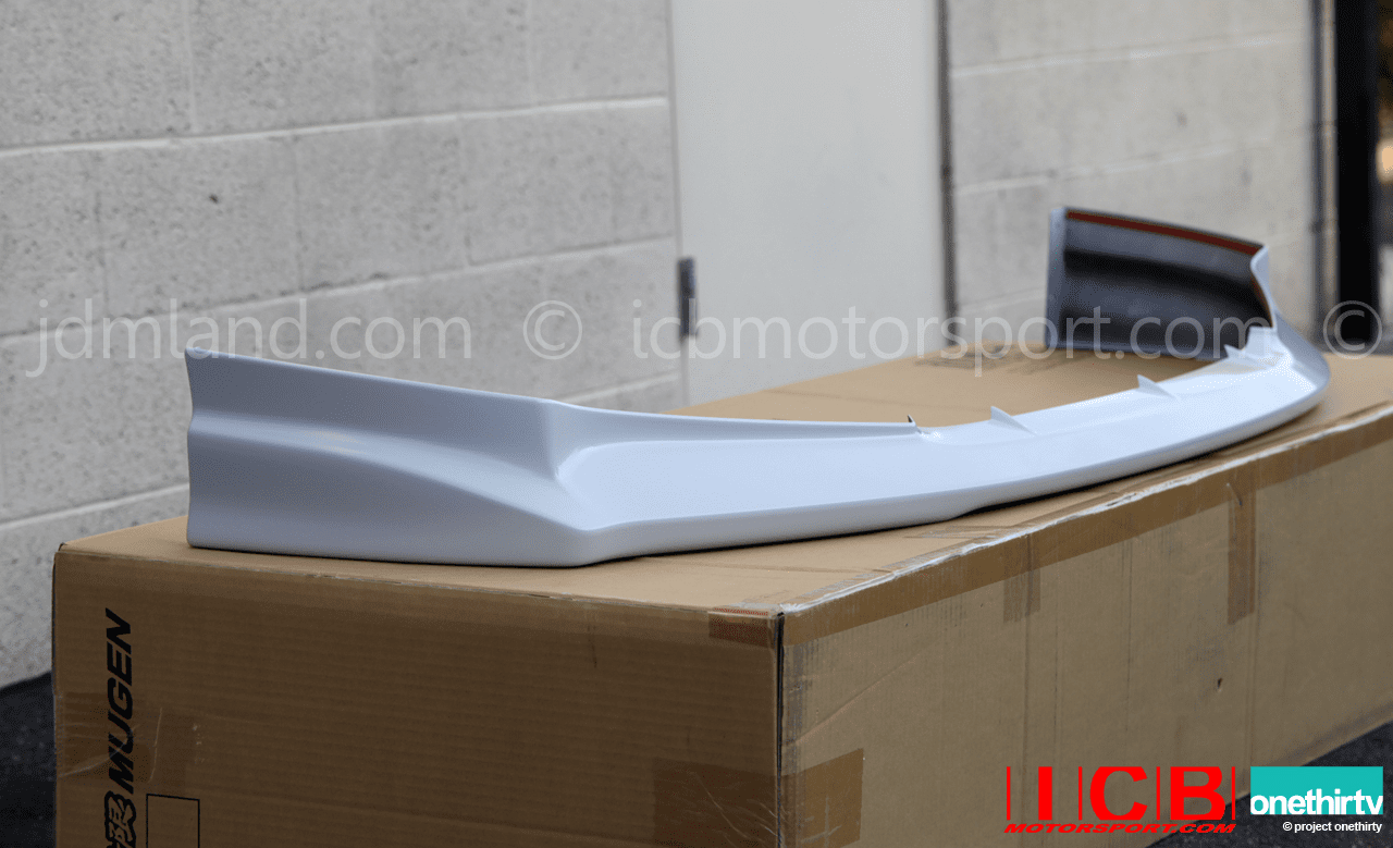 Mugen Aero Front Lip Spoiler Kit Civic JDM FD2 Civic Type R 06-11 71110-XKPC-K0S0-ZZ