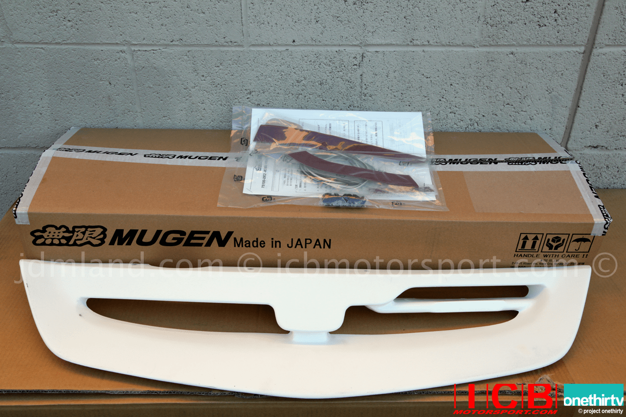 Mugen Aero Front Sports Grille Kit Civic EP3 Si 2004-2005 75100-XK2B-K0S0