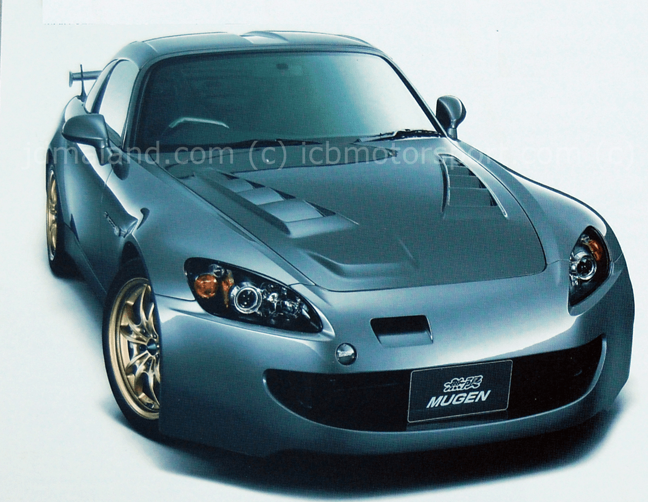 Mugen Aero S2000 SS Aero Front Bumper & Under Panel Kit 62511-XGS-K0S0