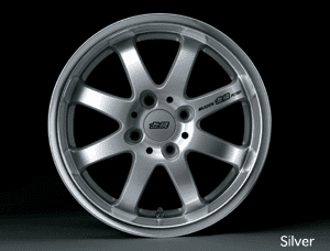 MUGEN Aluminum Wheels NR (Silver, Mirror Face, Racing White)