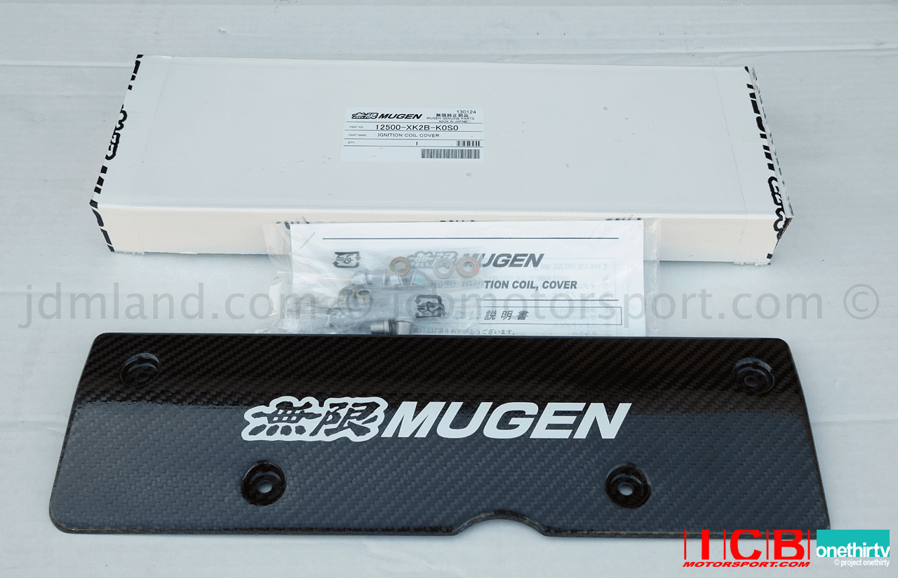 Mugen Carbon Fiber Ignition Coil Cover 12500-XK2B-K0S0 K Series (TSX/EP3/DC5/FD2) Pre-Order