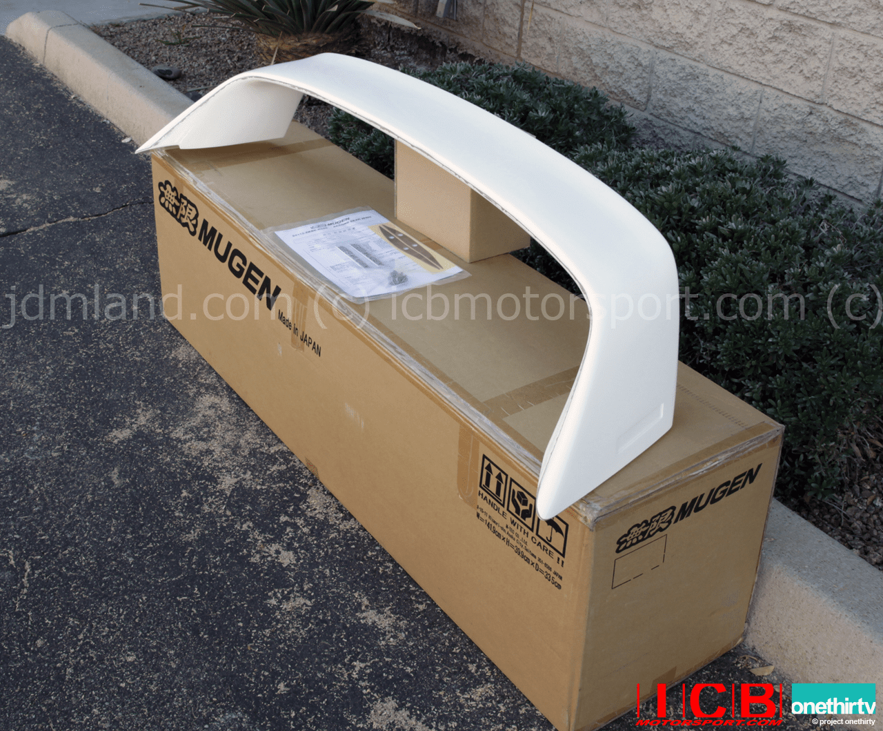 Mugen CL7 Accord Euro-R CL9 TSX 2004-2008 Rear Wing  84112-XKBD-K0S0-ZZ